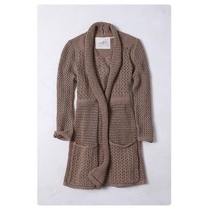 Angel of the north knit draped cardigan s